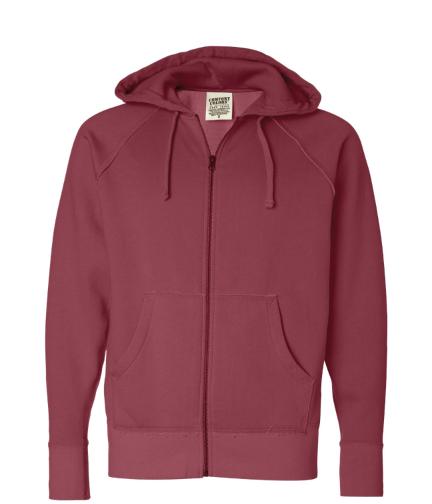 Comfort Colors Zip Hoodie