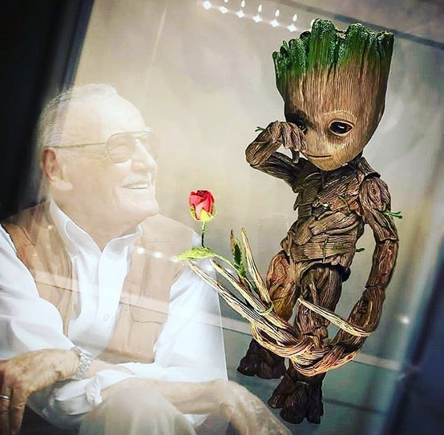 Happy birthday to one of the greatest story tellers of our time. #stanlee #marvel
