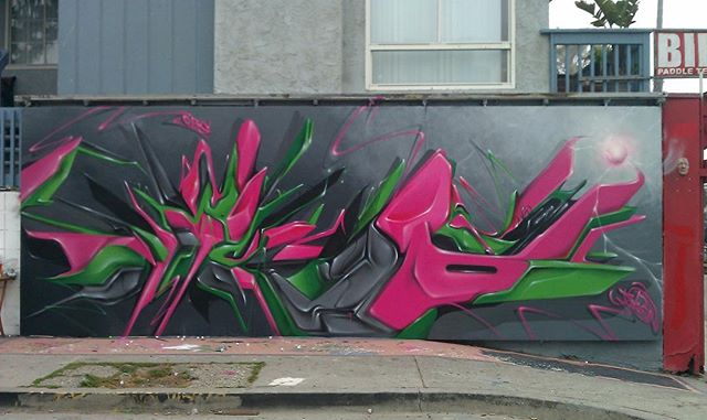 Throw it way back with a favorite @dytch66 from #2012 #graffiti #venice #dytch66
