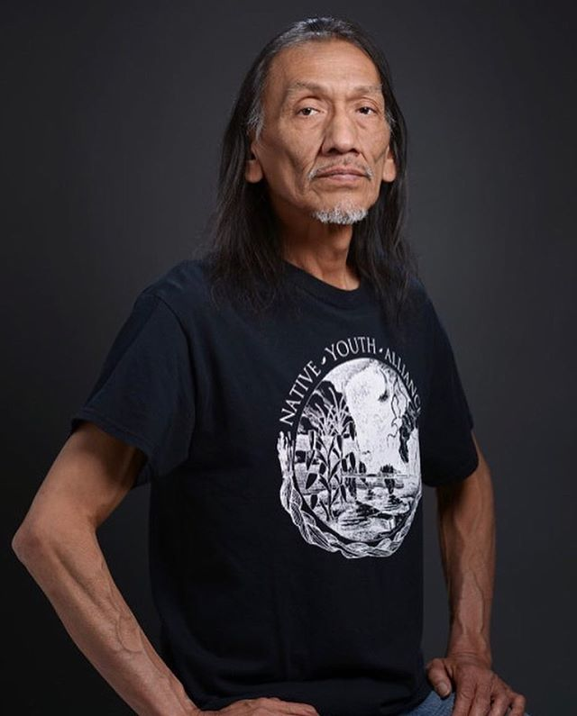 NATHAN PHILLIPS ~ i'm so glad that i now know this man's name. he is a native american activist, vietnam veteran, omaha elder, and the keeper of the sacred pipe. as such, he deserves our respect and admiration. bless him. #repost by @traceeellisross thank you #nathanphillips