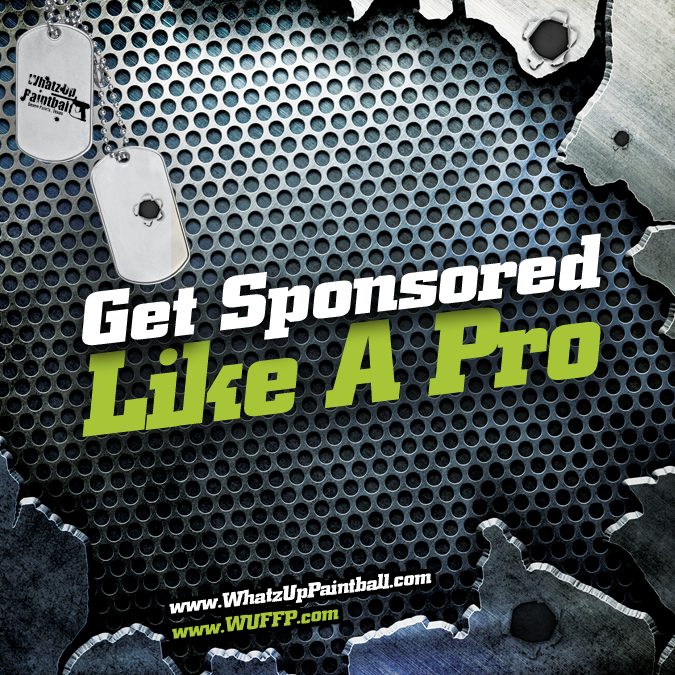 Paintball can be expensive when trying to start a team and practice every weekend. Get sponsored by Whatz-Up! We can help you save money and grow the sport you love.