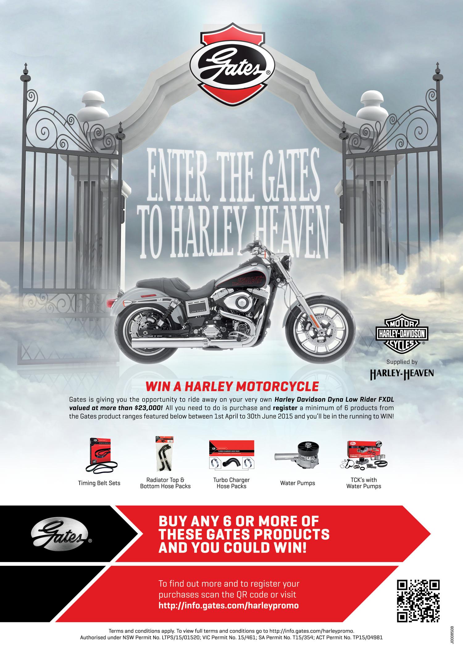 Berad Design Advertising Harley Davidson Timing Belt Gates000850 Tatmagad Harleyheaven 297x210mm Final Ol