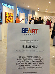 "Opening Group exhibition ""Elements"""
