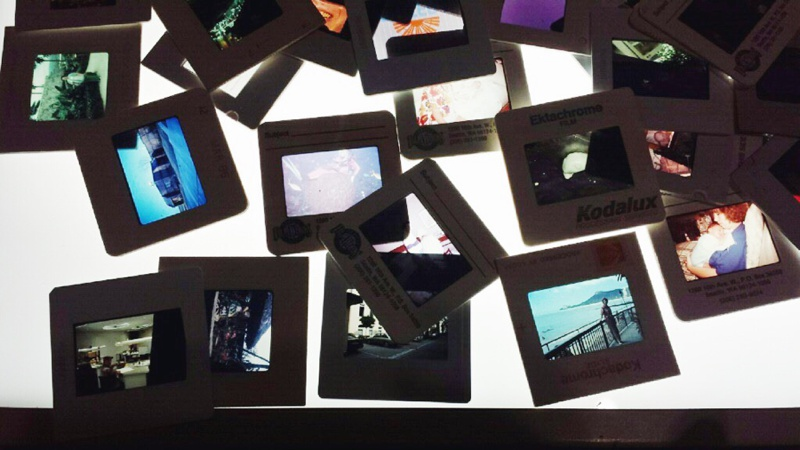 film slides at B4