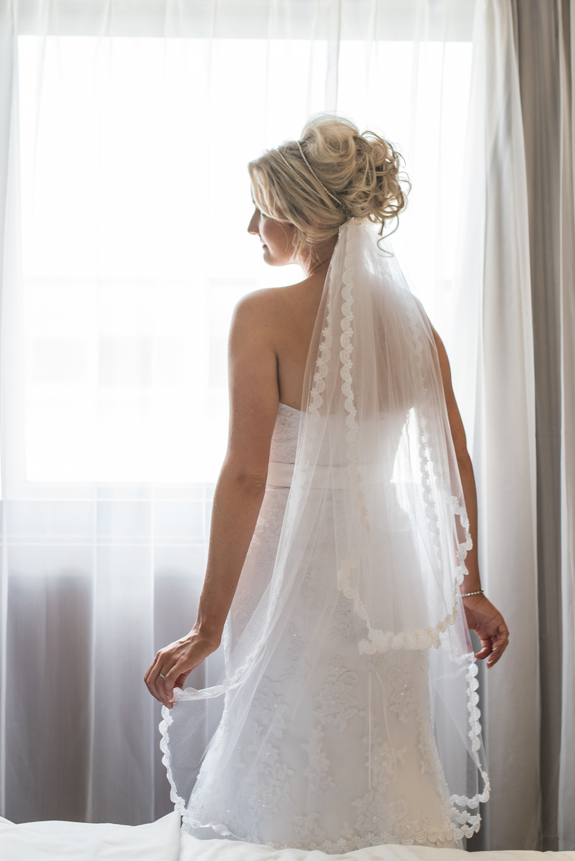 Bride Portrait Hougoumont Hotel Fremantle