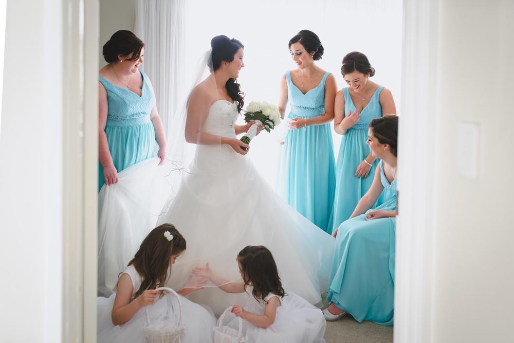 Bridal Party Mandurah Quays Resort