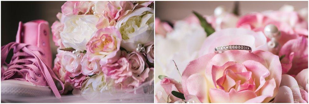 Wedding Ring and Flower Bouquet Rockingham Wedding