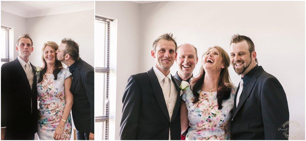 Groom & Family Rockingham Wedding