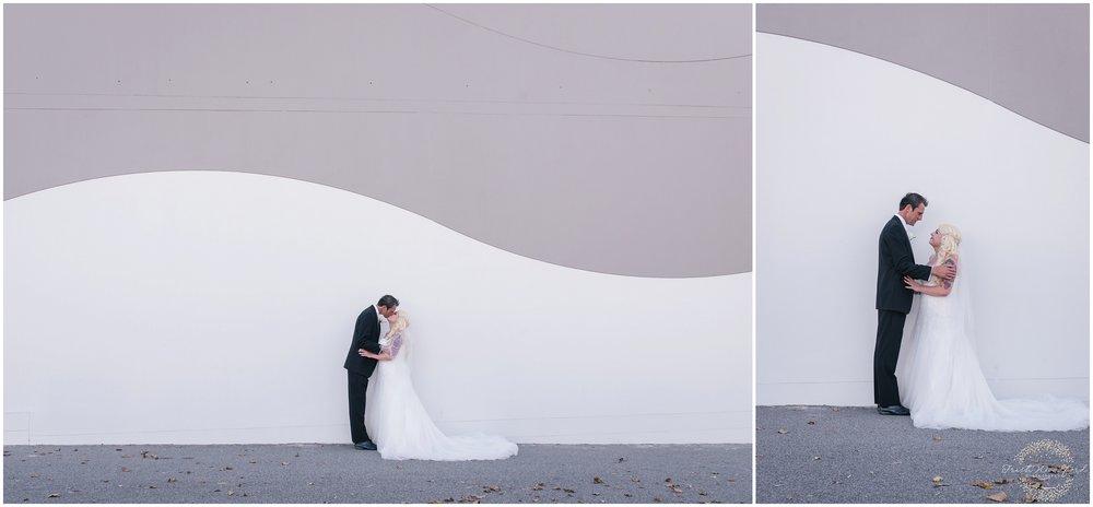Bride & Groom Portrait Rockingham Wedding