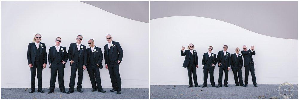 Groomsmen Portrait Rockingham Wedding