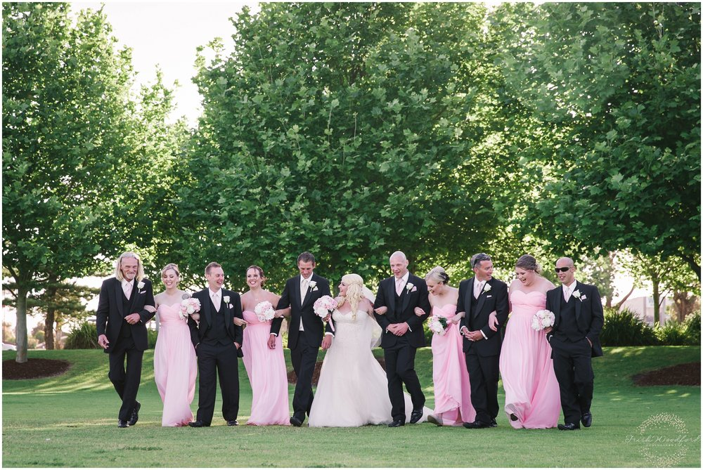 Bridal Party Rockingham Wedding