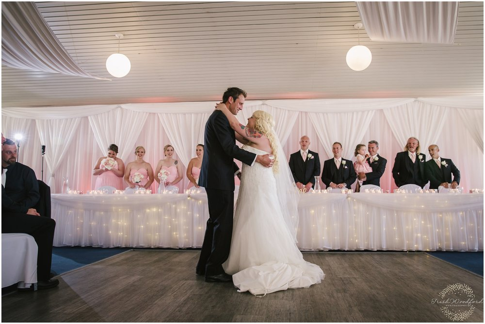 First Dance Wedding Reception The Cruising Yacht Club Rockingham