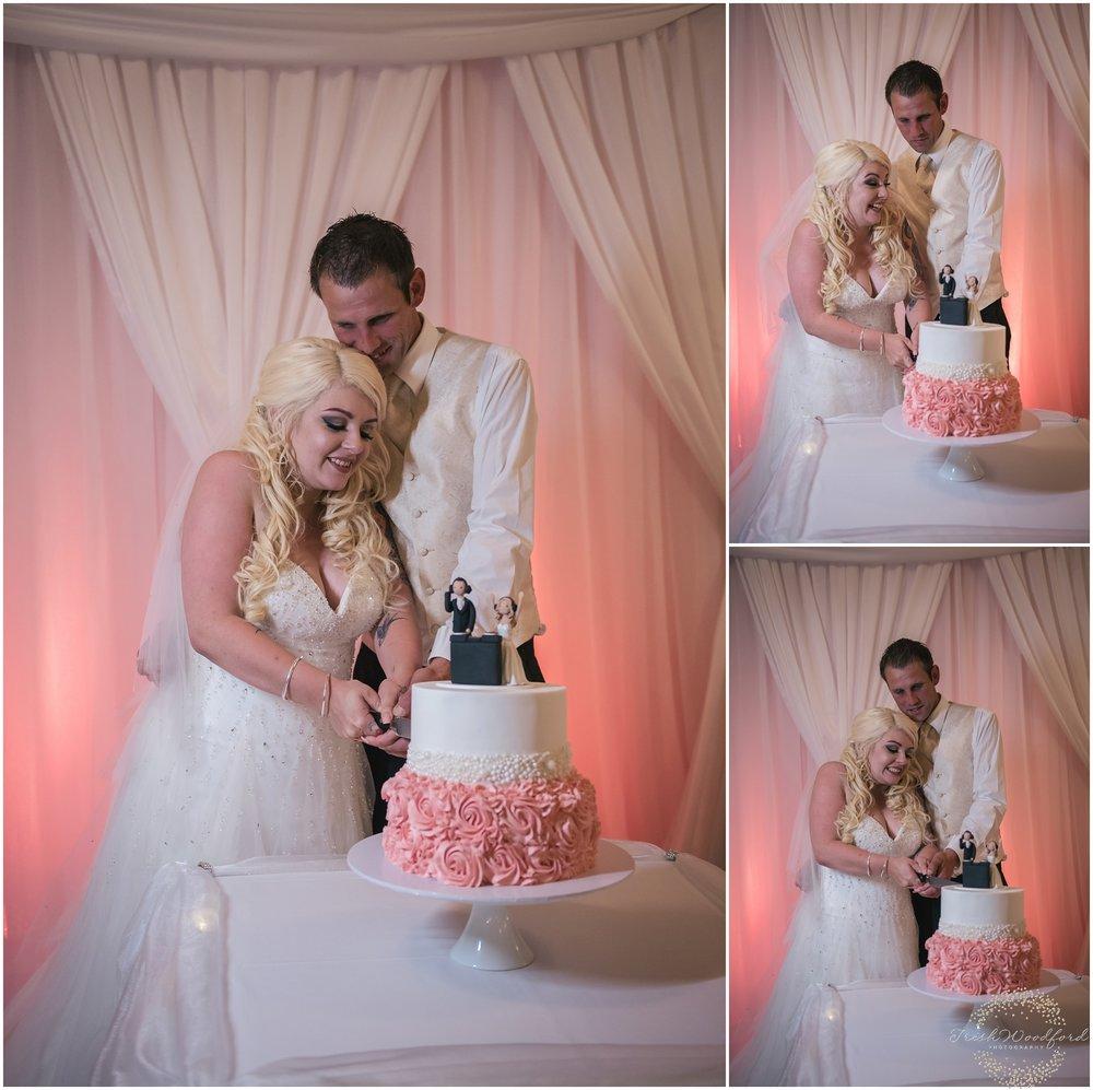 Wedding Cake Cutting The Cruising Yacht Club Rockingham