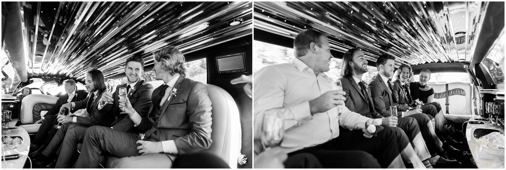 Groom Limo Margaret River Wedding