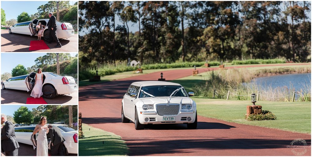 Bride Limo Laurance Wines Margaret River