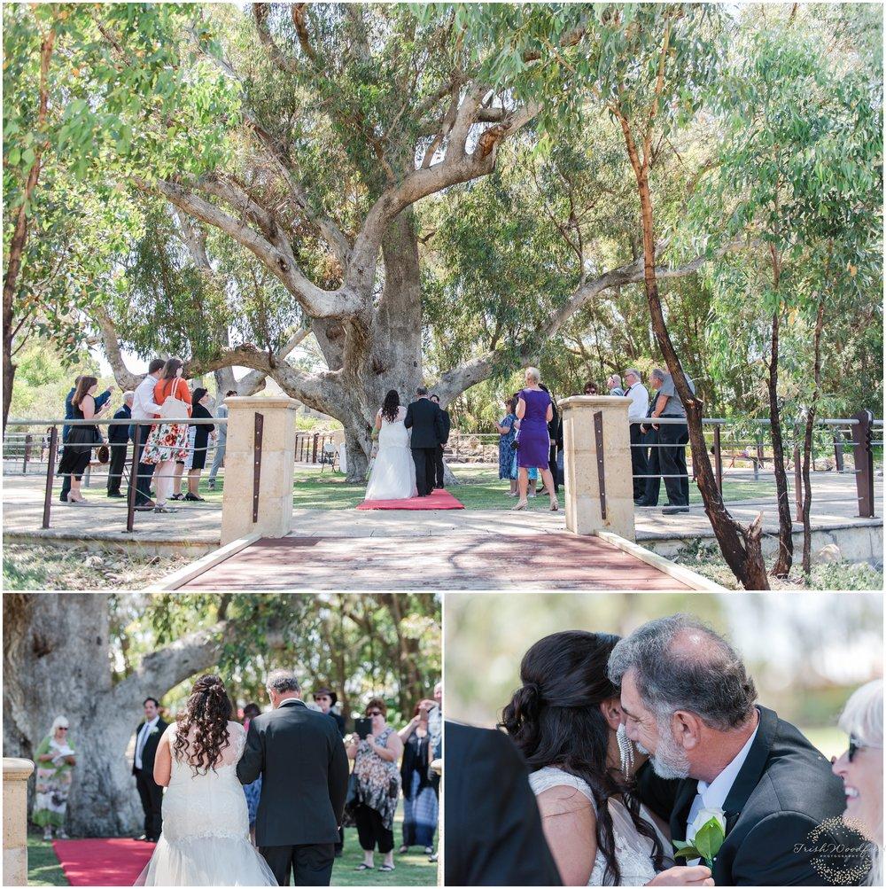 WeddingCeremonyYindanaLake