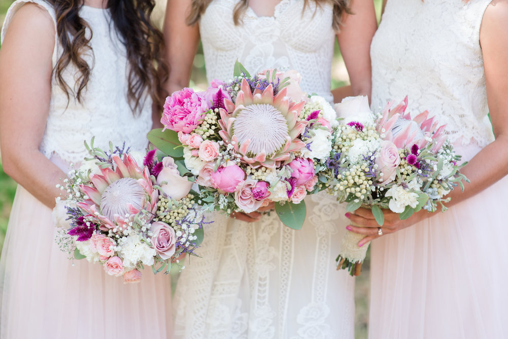 Wedding Bouquets Margaret River Wedding