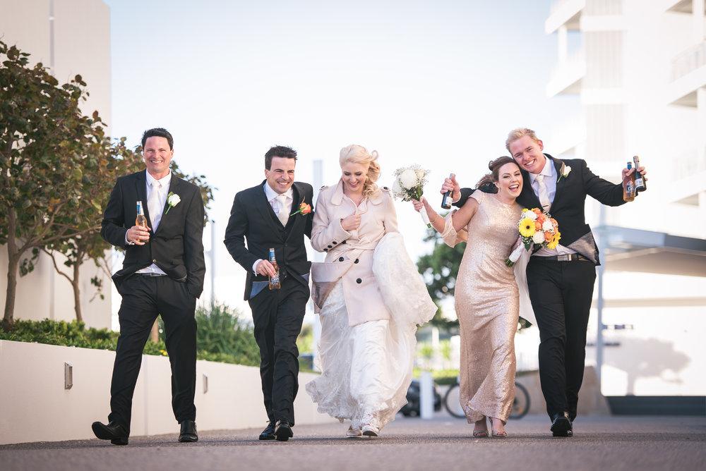 Bridal Party Mandurah Wedding