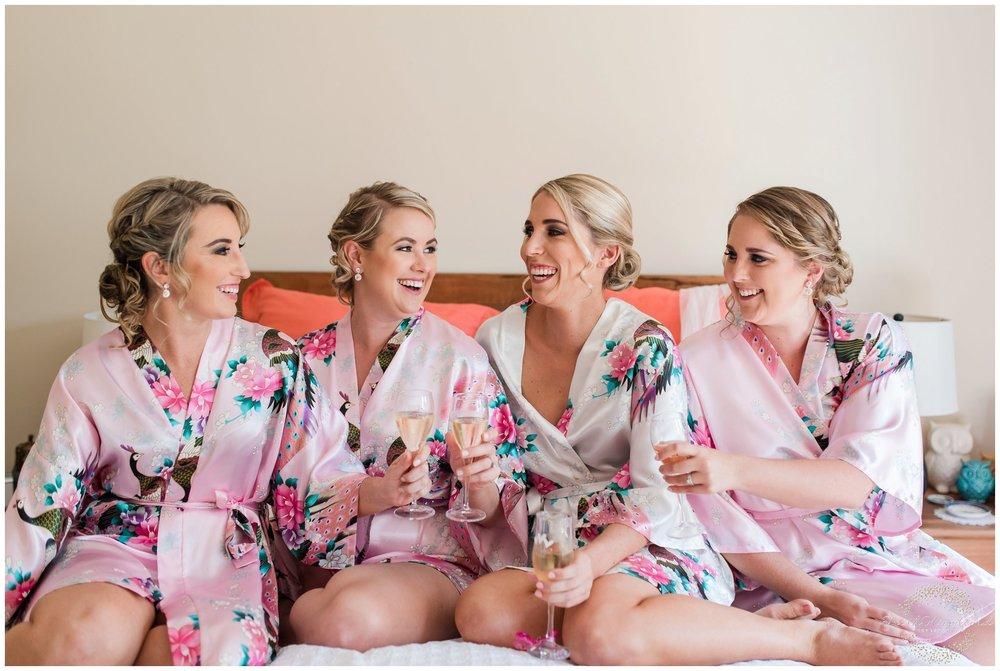 perth bride and bridesmaids
