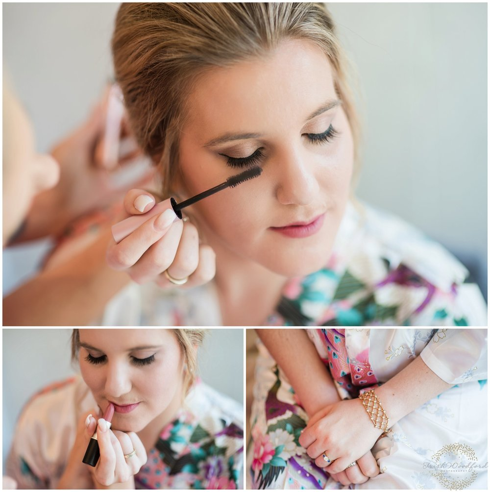 bridal makeup dunsborough wedding