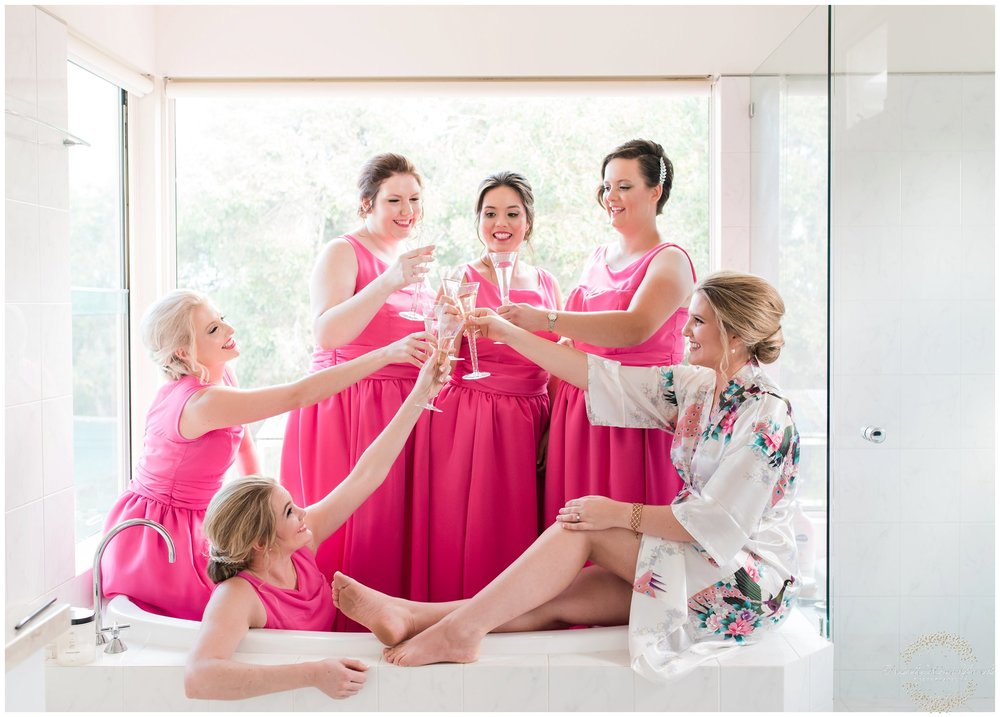 bridesmaids dunsborough wedding