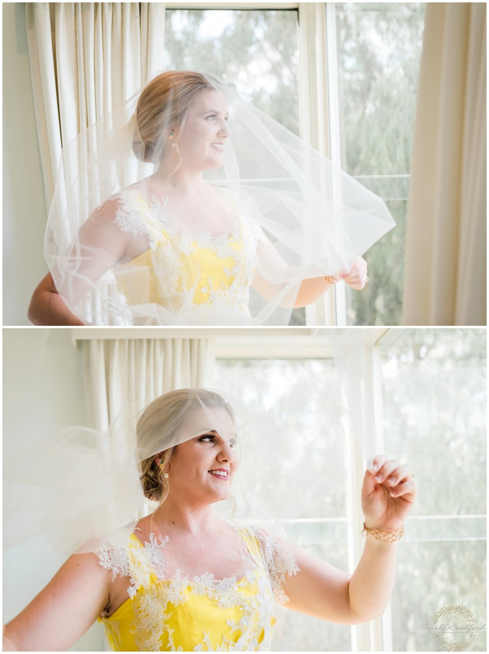 bride portrait dunsborough wedding