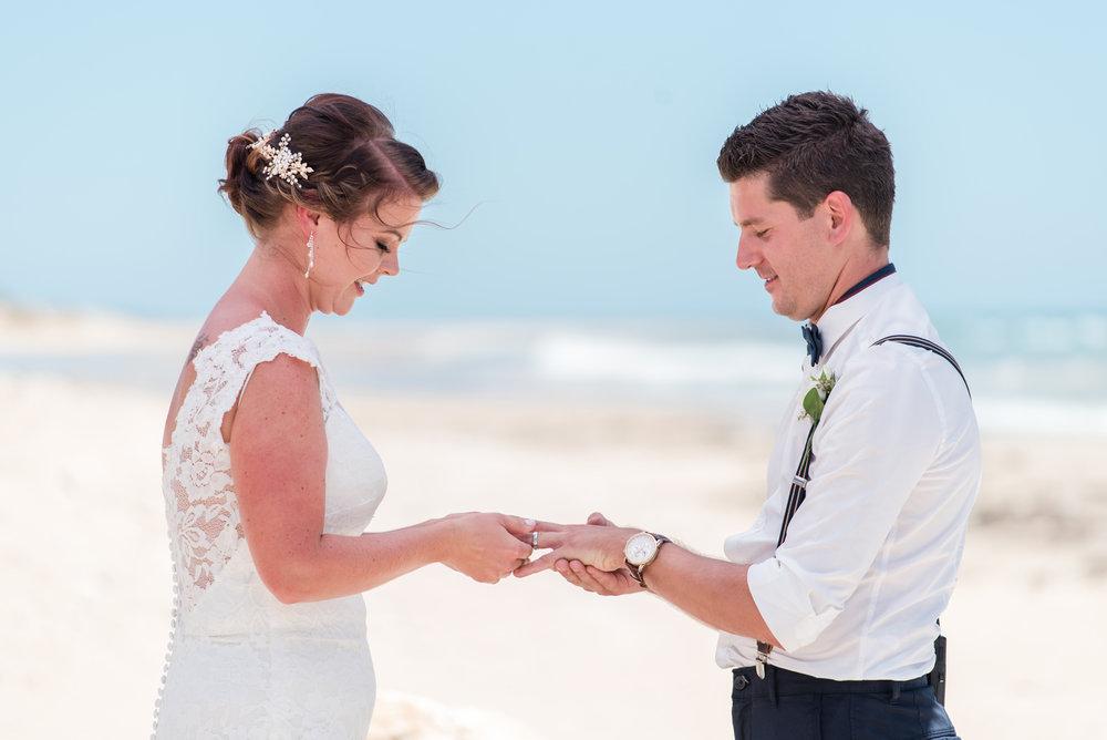 Mandurah Beach Wedding Ceremony