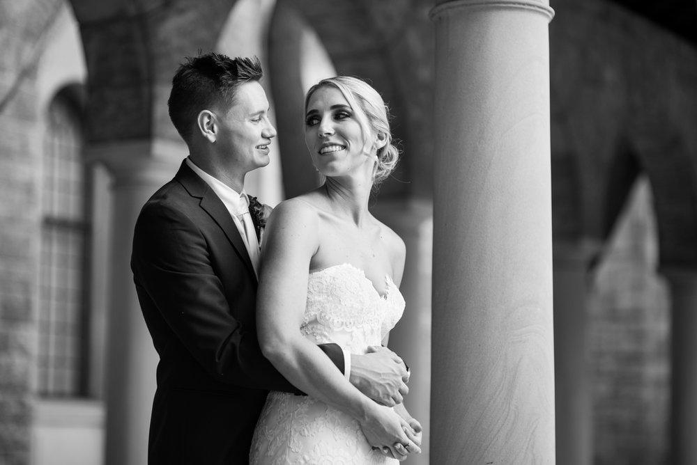Bride and Groom UWA Perth