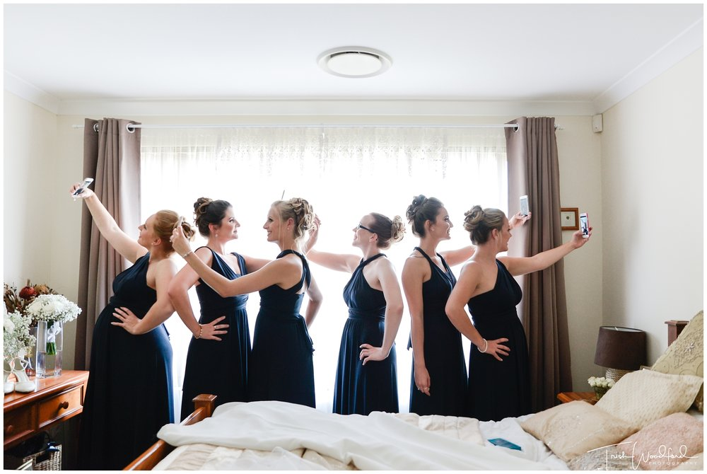 Perth Wedding Bridesmaids Selfie