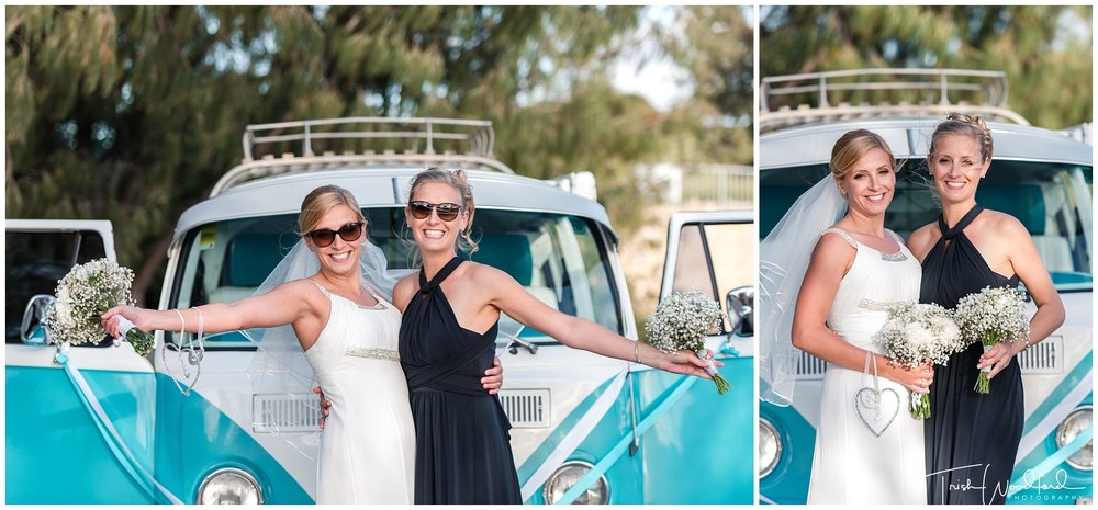 Perth Wedding Photography Bride & Bridesmaid Combi