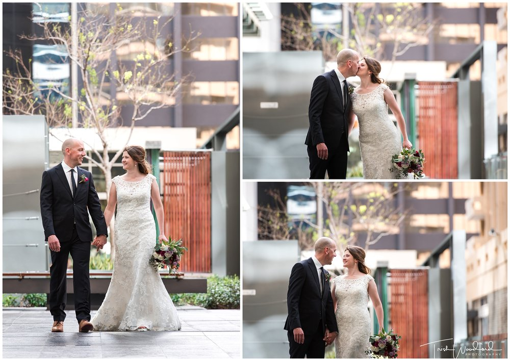 Perth City Wedding Portraits