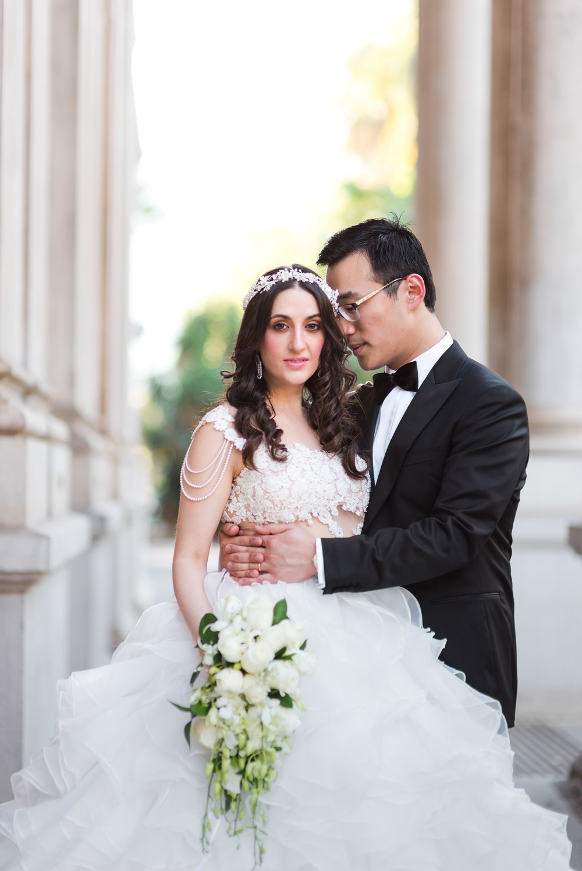 Bride and Groom Stirling Gardens