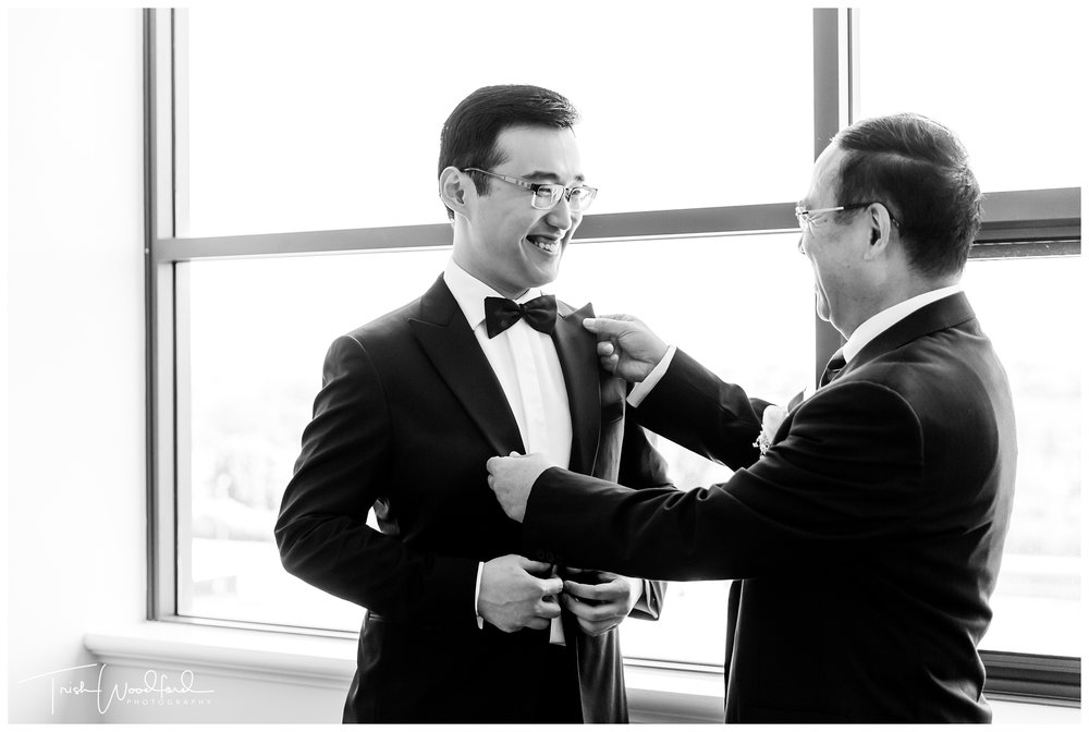 Perth Groom Getting Ready