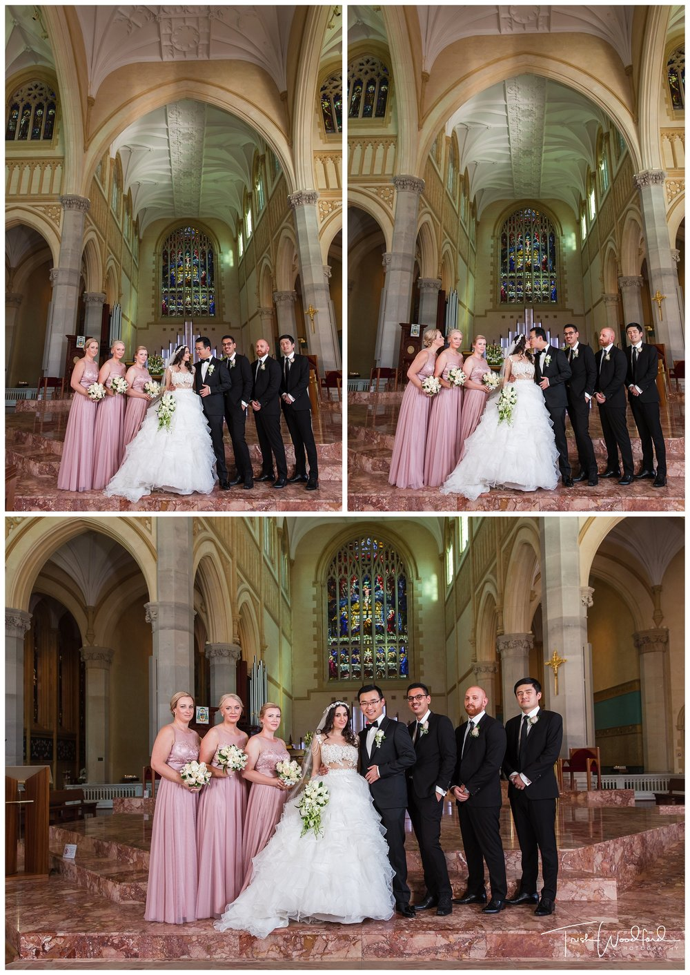 St Mary's Cathedral Perth Bridal Party