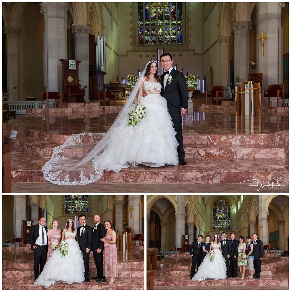St Mary's Cathedral Perth Wedding Portraits
