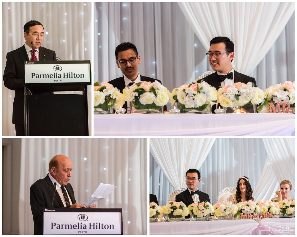 Parmelia Hilton Wedding Reception
