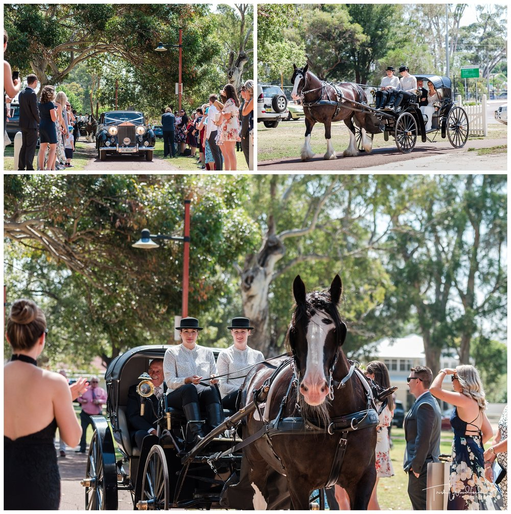 Horse & Carriage Swan Valley Wedding