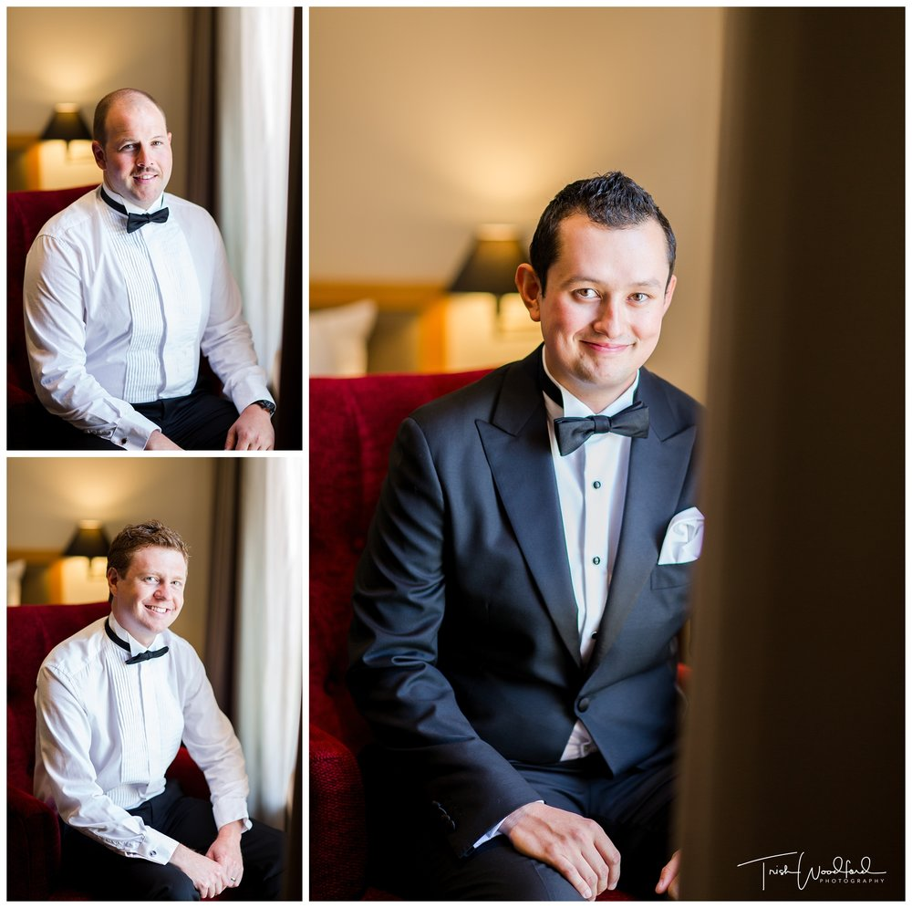 Groom Portrait Perth Wedding
