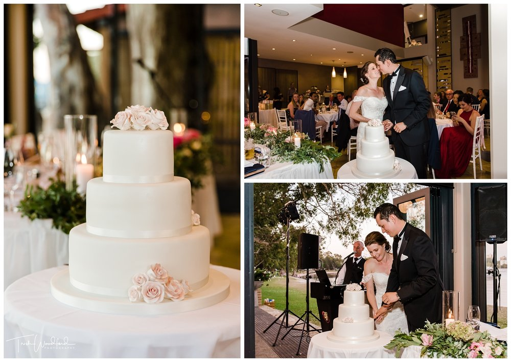 Matilda Bay Wedding Cake