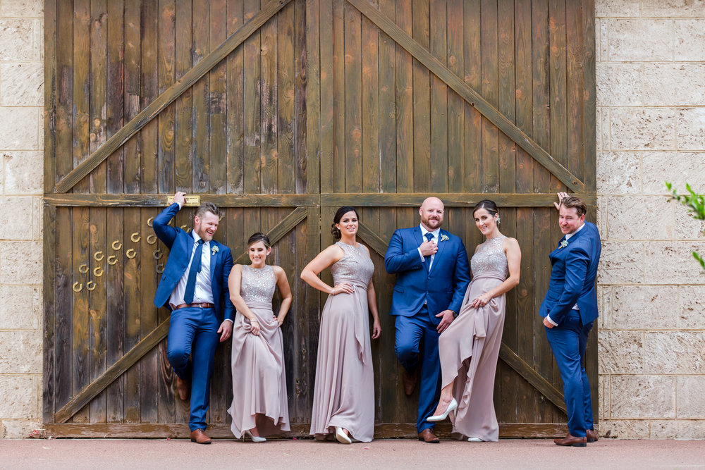 Bridal Party Brookleigh Estate
