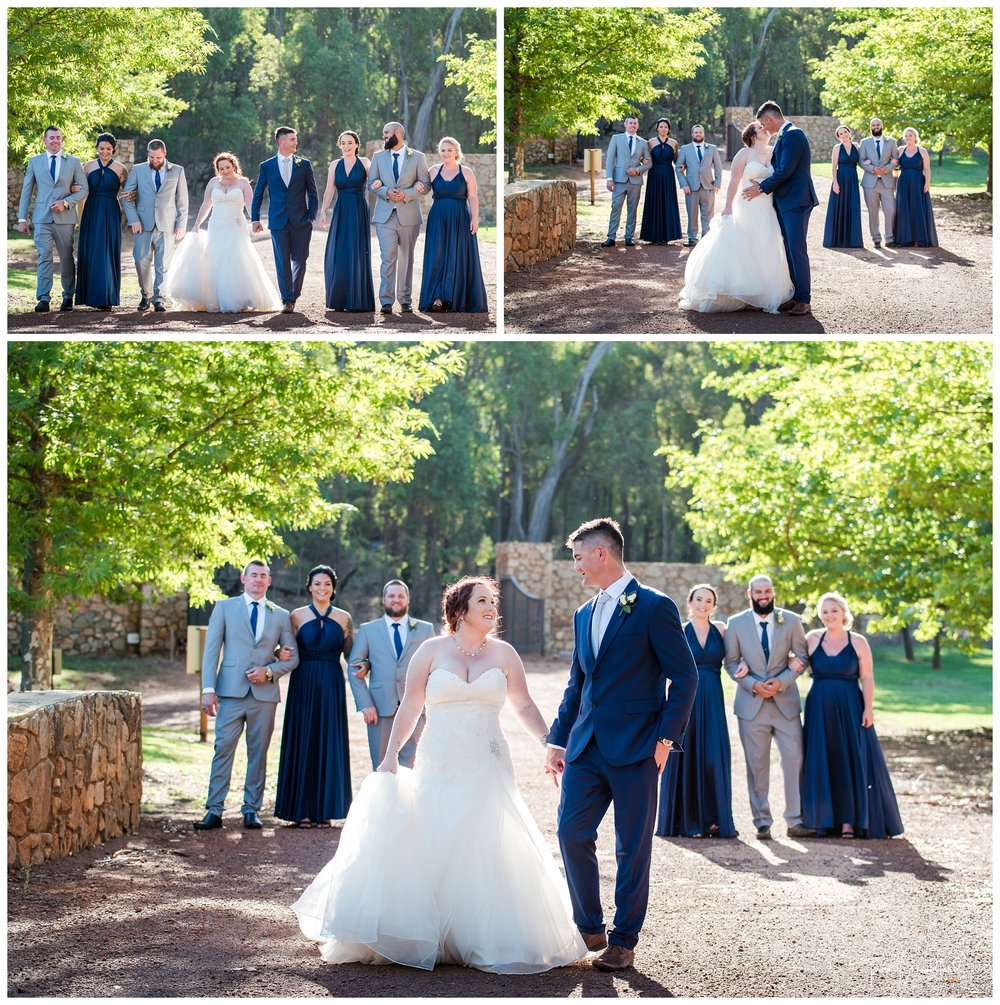 Millbrook Winery Bridal Party Photo