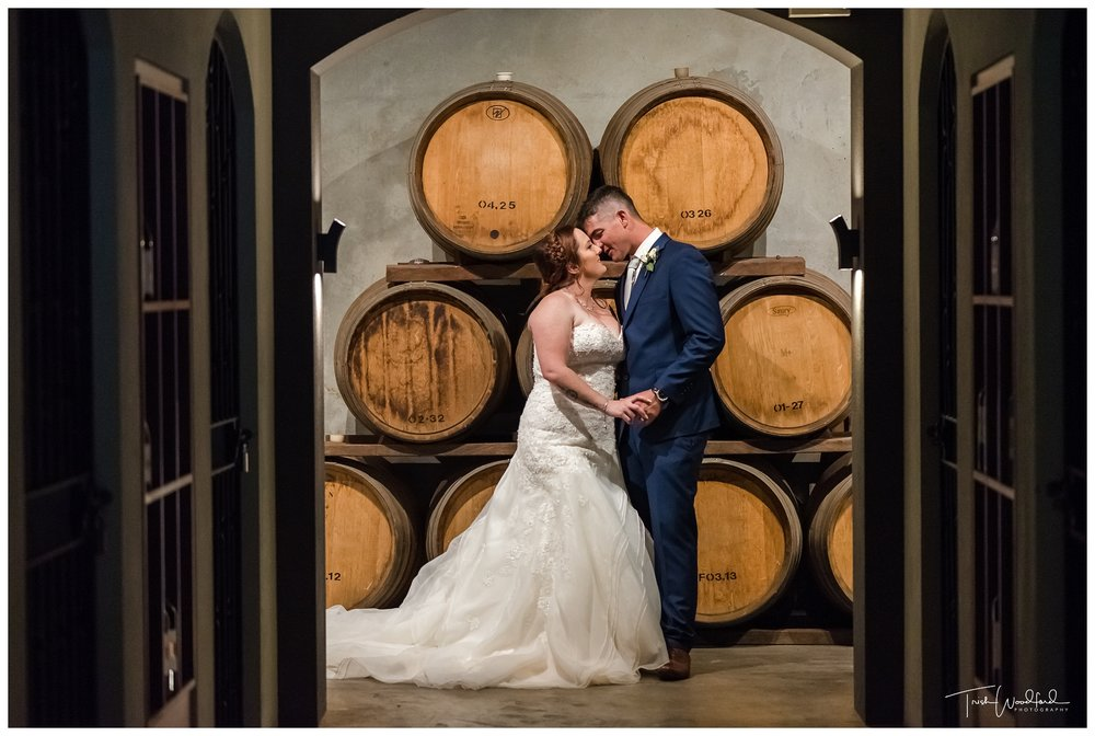 Bride & Groom Millbrook Winery Wedding