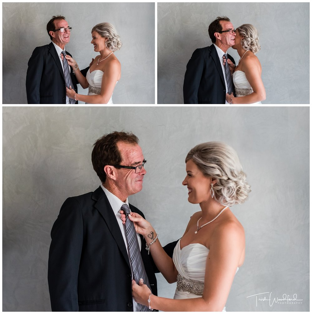 Bride & Dad Tradewinds Wedding