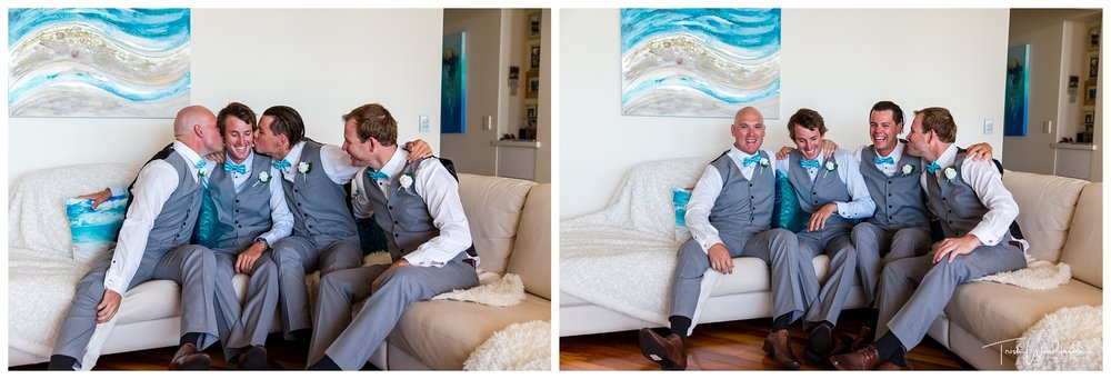 Groom & Groomsmen East Fremantle Wedding
