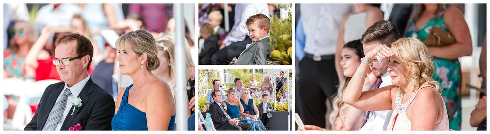 Tradewinds Hotel Wedding Ceremony