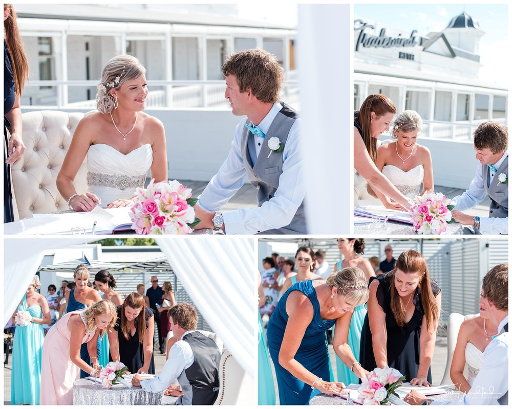 Wedding Ceremony Tradewinds Hotel