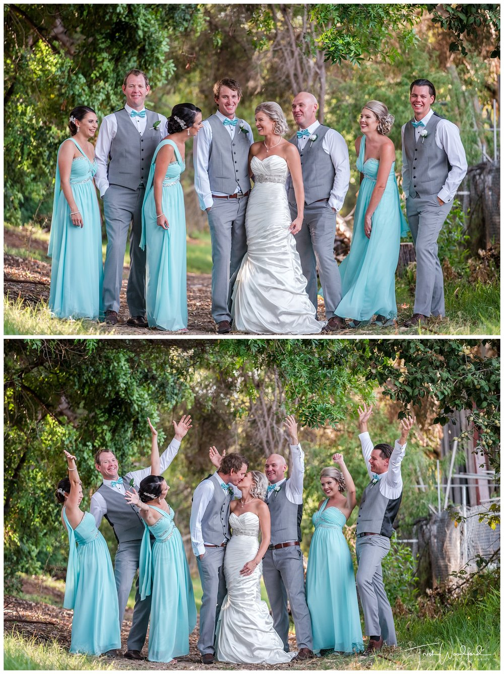 Bridal Party Wedding Photos Fremantle