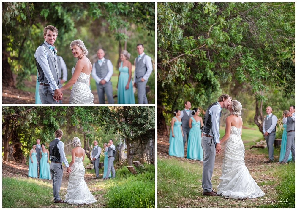 Bridal Party Photos Fremantle Wedding