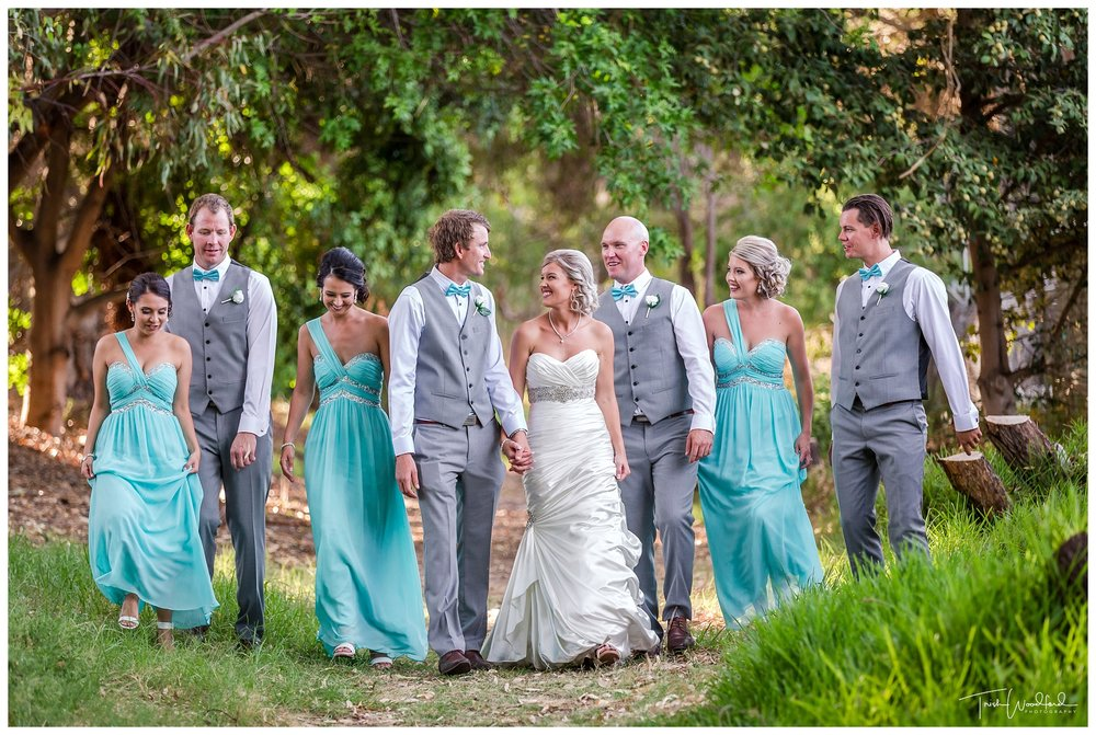 Bridal Party Fremantle Wedding
