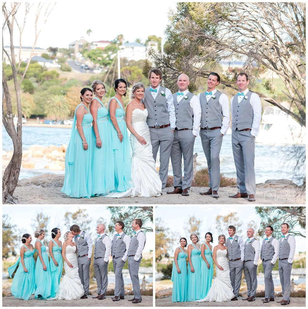 Bridal Party East Fremantle Wedding